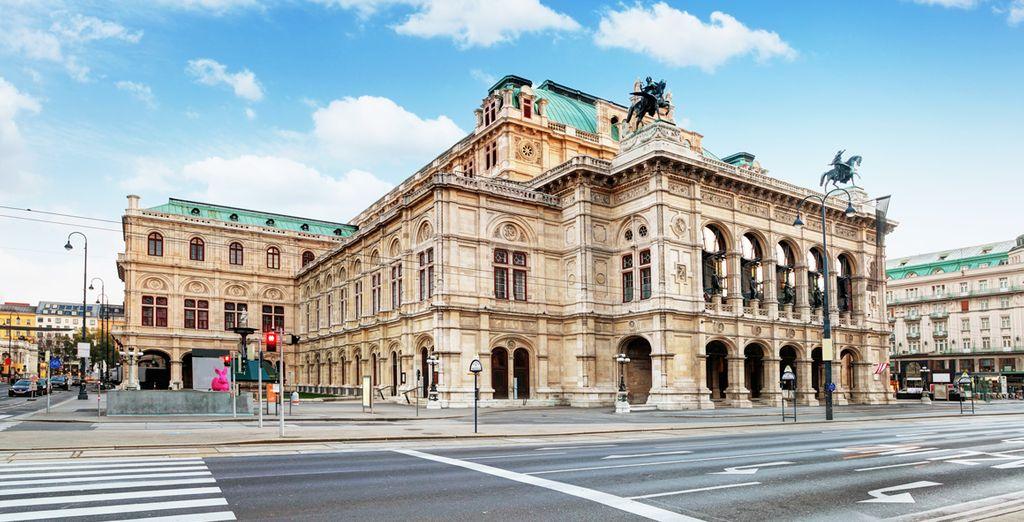 Espectaculares vistas a la Ópera Estatal de Viena desde tu hotel
