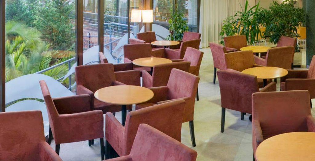 Las comidas en el restaurante del hotel son en buffet libre