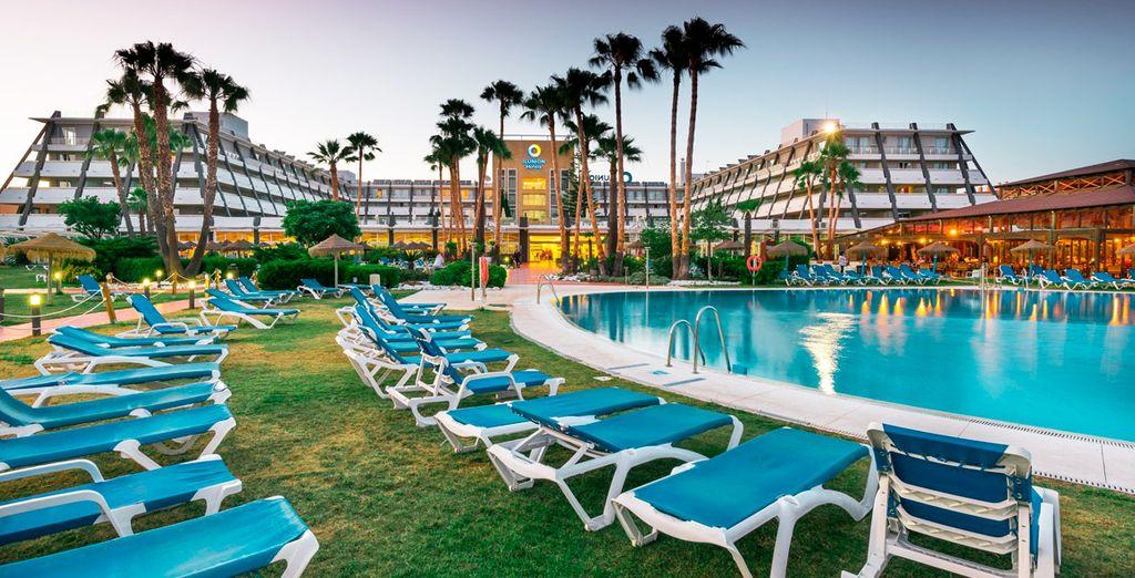 Un hotel con las mejores instalaciones para tu descanso y diversión