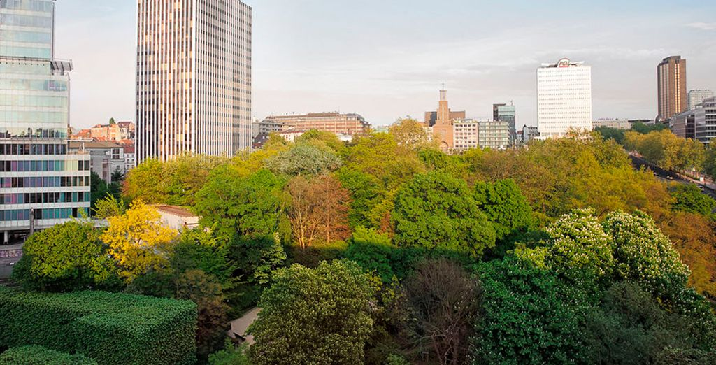 Vistas de la ciudad desde el hotel