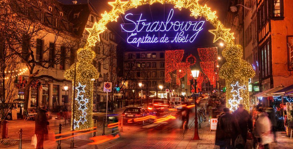 Al caer la noche, verás cómo la magia navideña opera