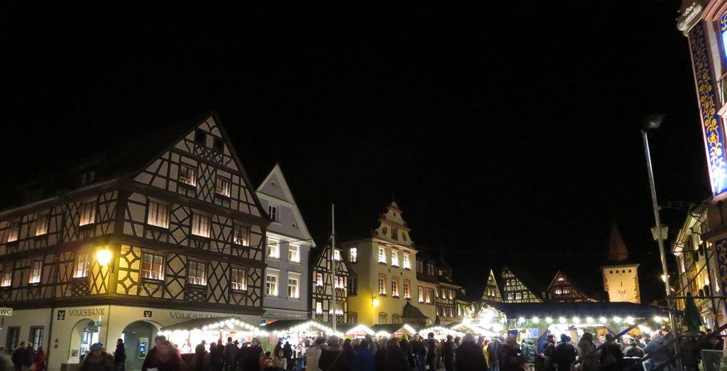 Gengenbach es una pequeña ciudad en el borde occidental de la Selva Negra