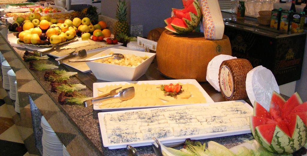 Son característicos de esta cocina los sabrosos productos de la tierra...