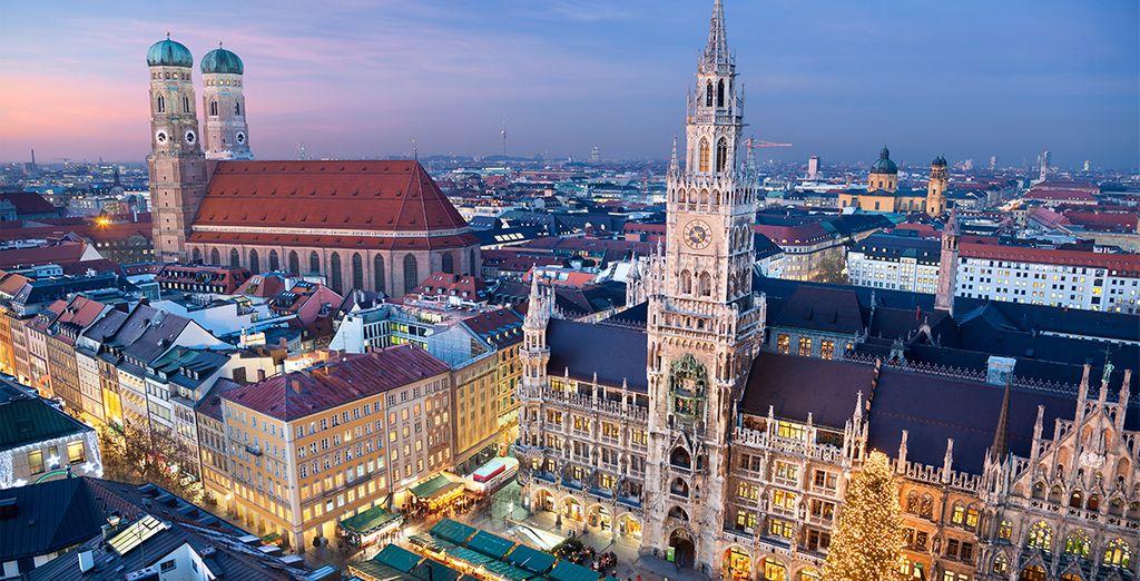 Bienvenido a la ciudad de Múnich