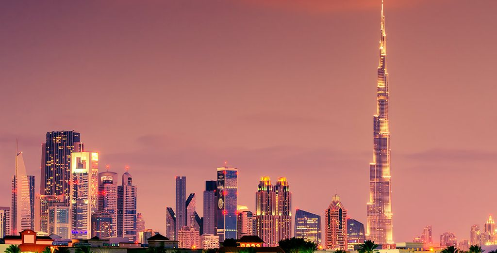 Contempla la majestuosidad del Burj Khalifa