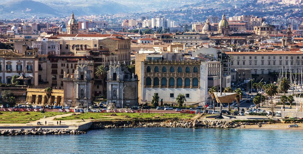 Acércate a Palermo, la capital de Sicilia