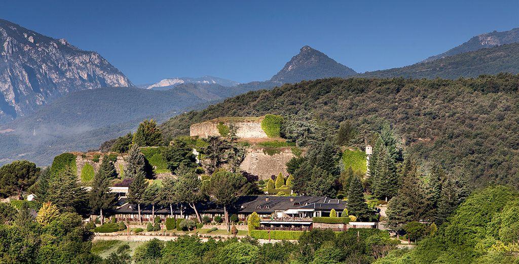 El Castell De Ciutat Relais & Chateaux 4* se encuentra en un entorno mágico