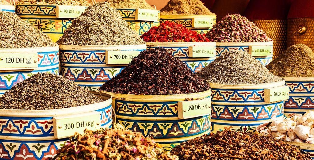 Sus colores y aromas te fascinarán