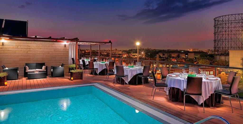 Bienvenido al hotel H10 Roma Città 4*