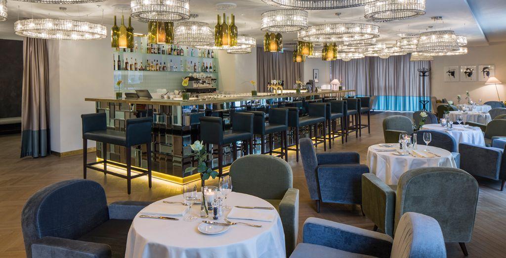 En el restaurante degustarás platos clásicos vieneses