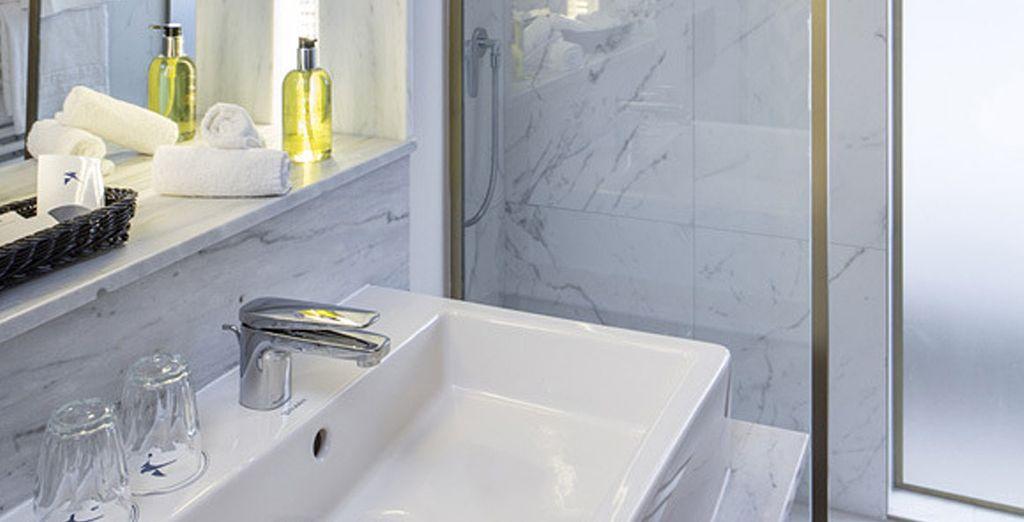 Con baño privado para tu total comodidad