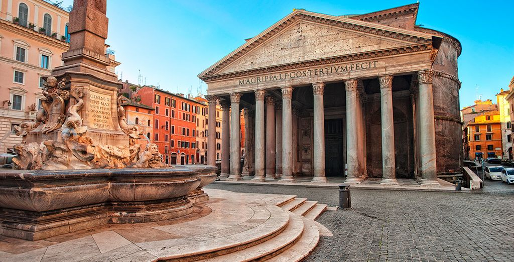 Acércate al Panteón