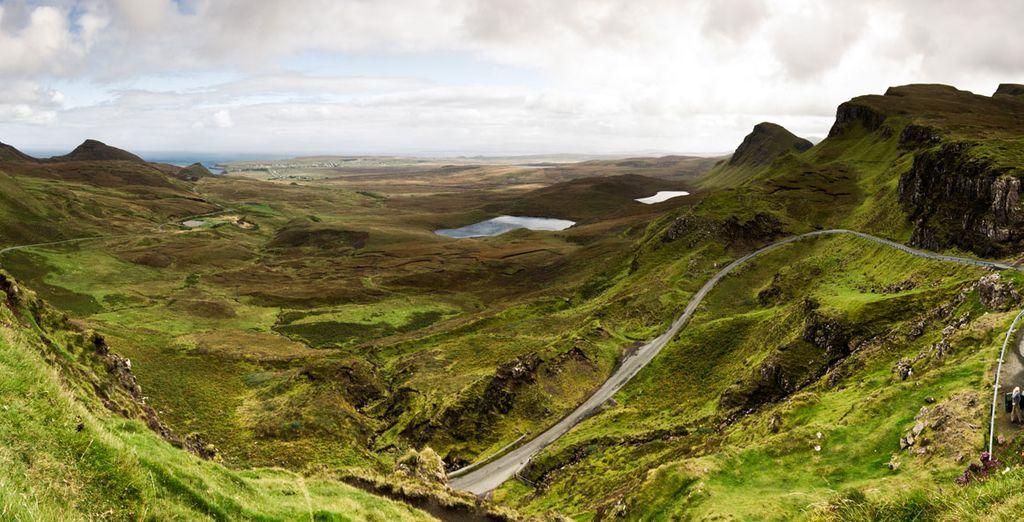 La Isla de Skye ofrece unas vistas impresionantes
