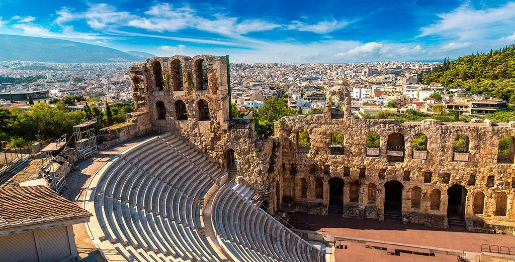 Descubre Atenas, una ciudad llena de historia