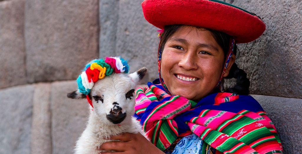 Descubre el colorido y alegría de Perú