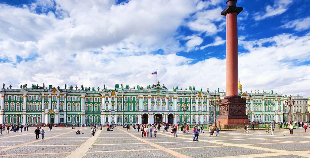 O el Museo del Hermitage, uno de los más importantes del mundo