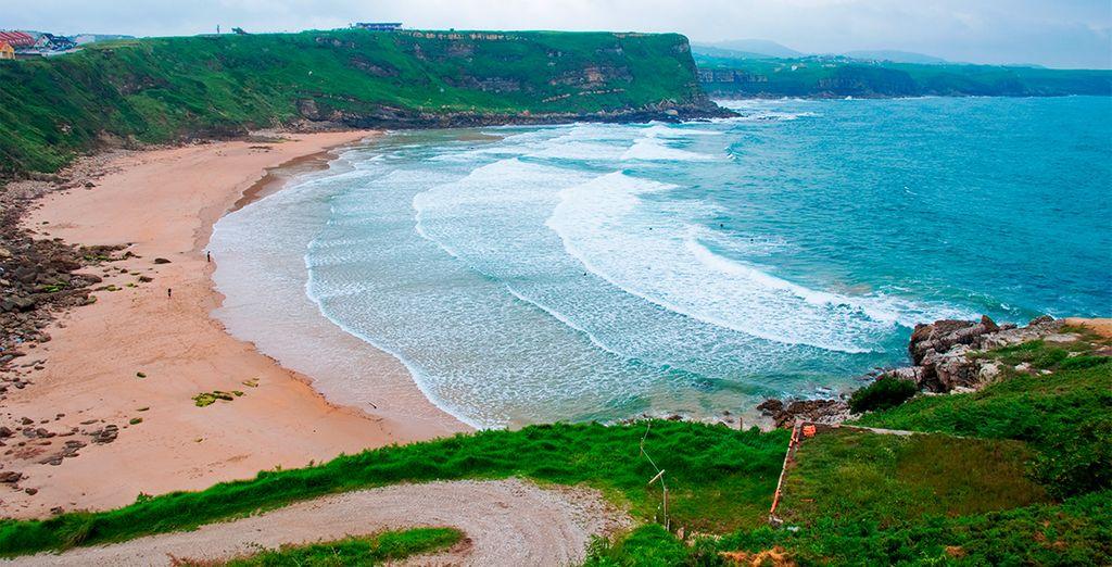 La magnífica playa de Los Locos