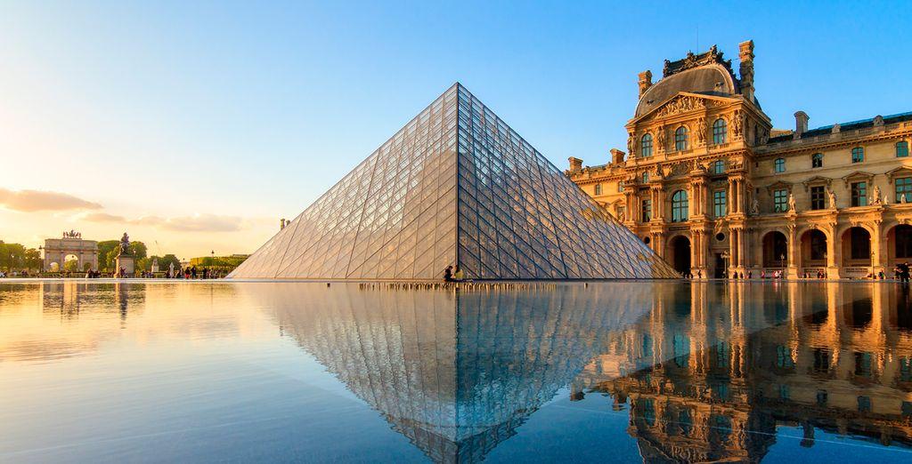 Piérdete entre la innumerables obras de arte de uno de los museos más importantes del mundo