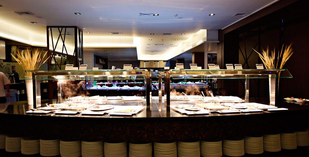 Cada restaurante ofrece a los huéspedes una gran experiencia
