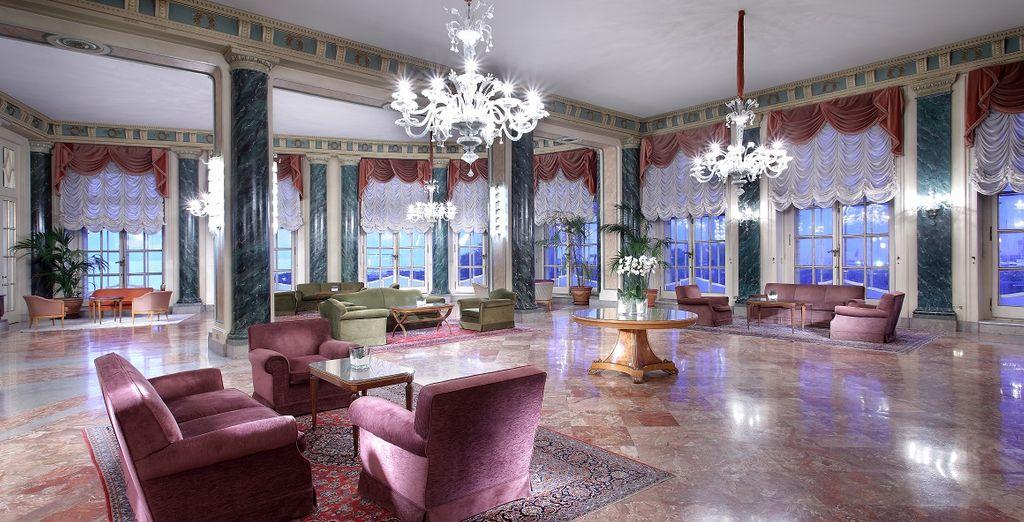 Descubrirás un hotel con una atmósfera...