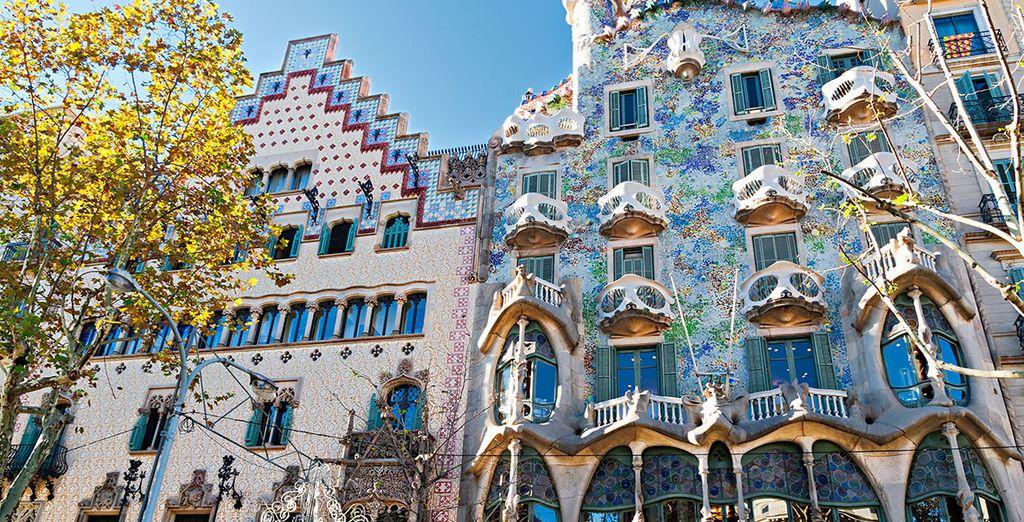 Y a 600 metros de la Casa Batlló