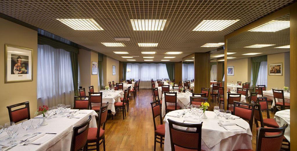 Degusta la auténtica gastronomía italiana