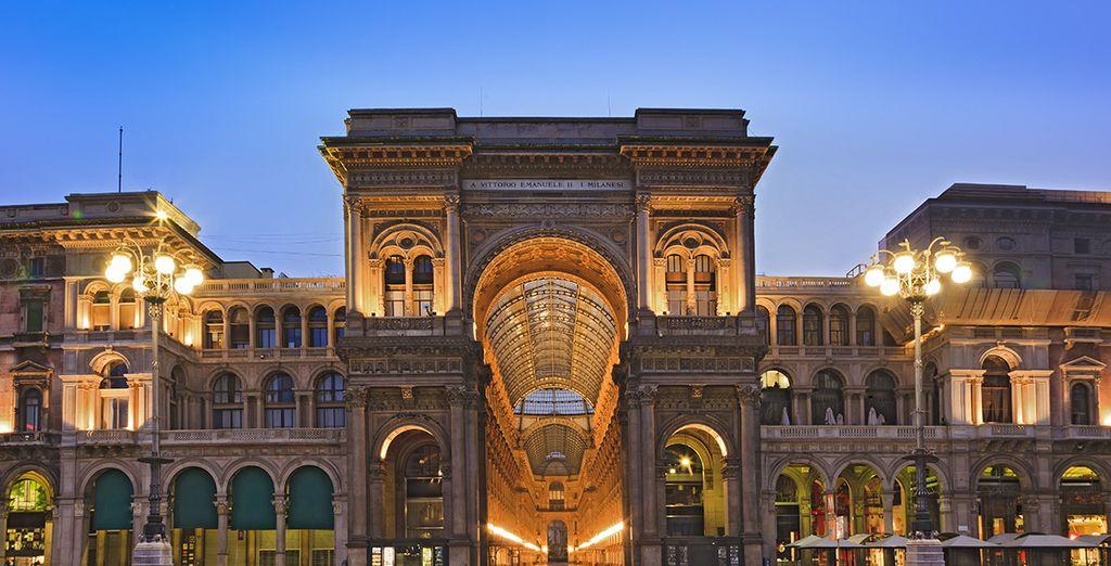 Milán ofrece todas las ventajas de una gran ciudad...