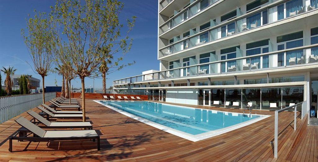 Atenea Port Barcelona Mataró 4*, un hotel moderno próximo a Barcelona