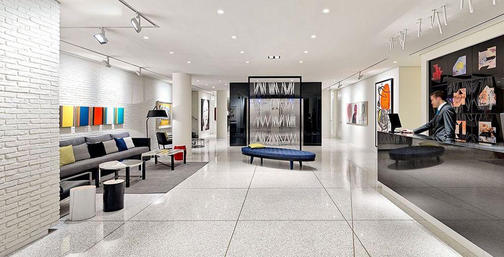 Un hotel de nueva construcción inspirado en el mundo del arte contemporáneo