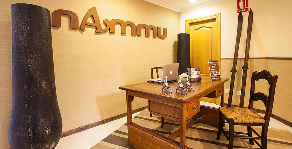 Relájate en el Nammu Spa, con sus diferentes circuitos y masajes