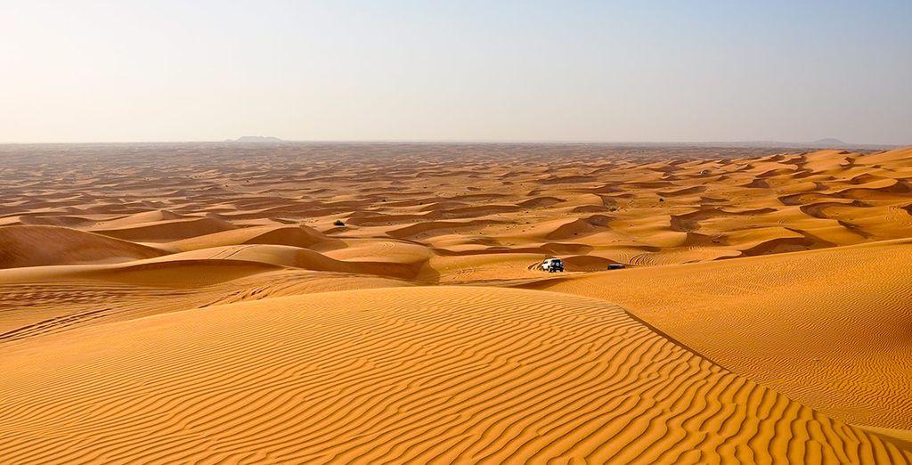 El cuarto día te llevarán al desierto