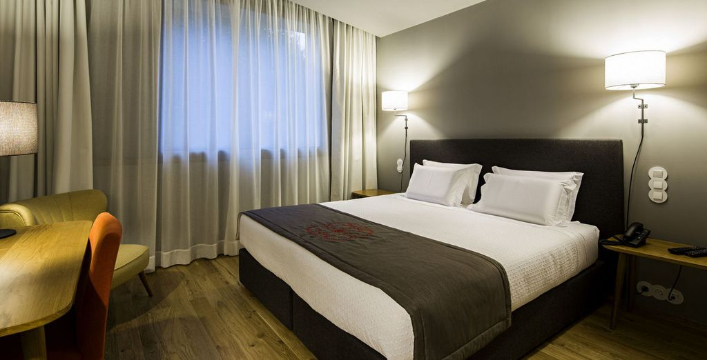 Descansa en una cómoda habitación Comfort