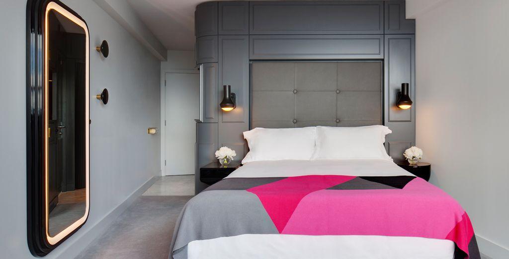 Descansarás en una bonita habitación Superior...