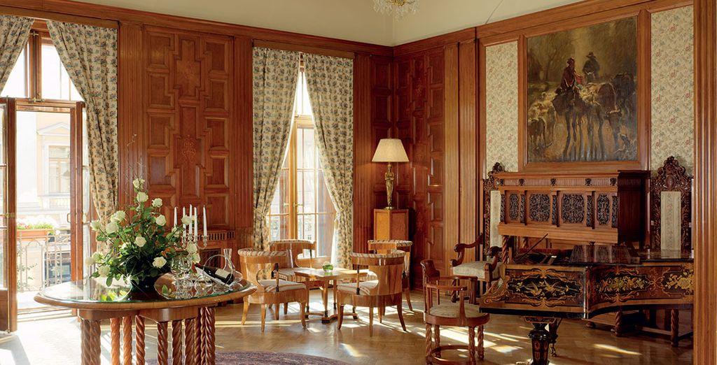 Sus interiores clásicos y elegantes no te dejarán indiferente