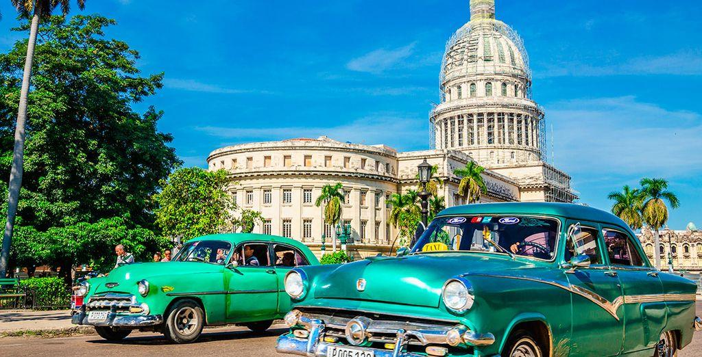 Te alojarás en La Habana la última noche del combinado