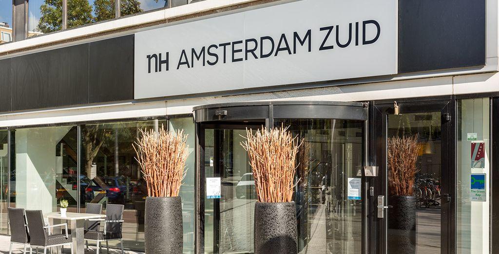 Bienvenido a NH Amsterdam Zuid 4*