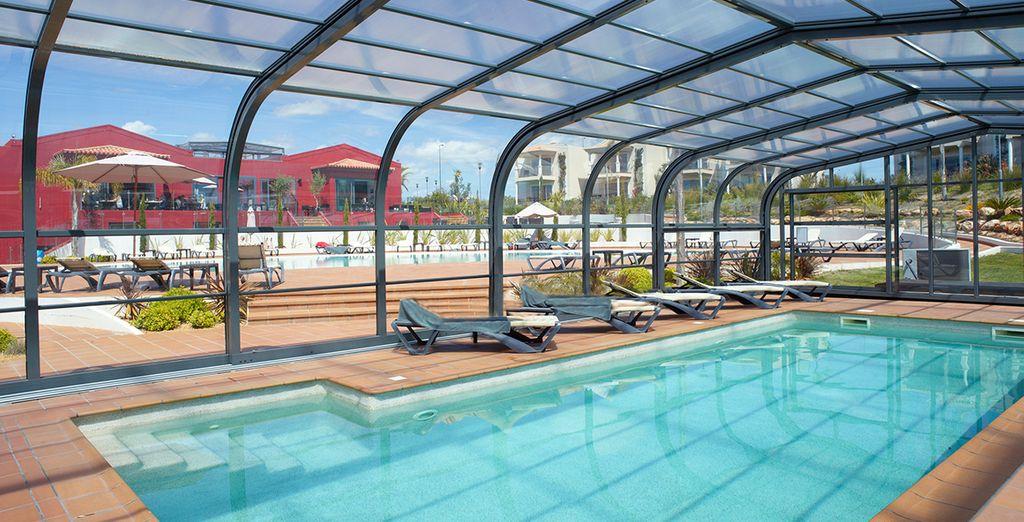 Disfruta de las instalaciones de tu hotel, en un entorno donde relajarte y desconectar de la rutina