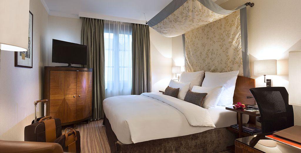 Envuélvete de lujo en tu habitación Premium