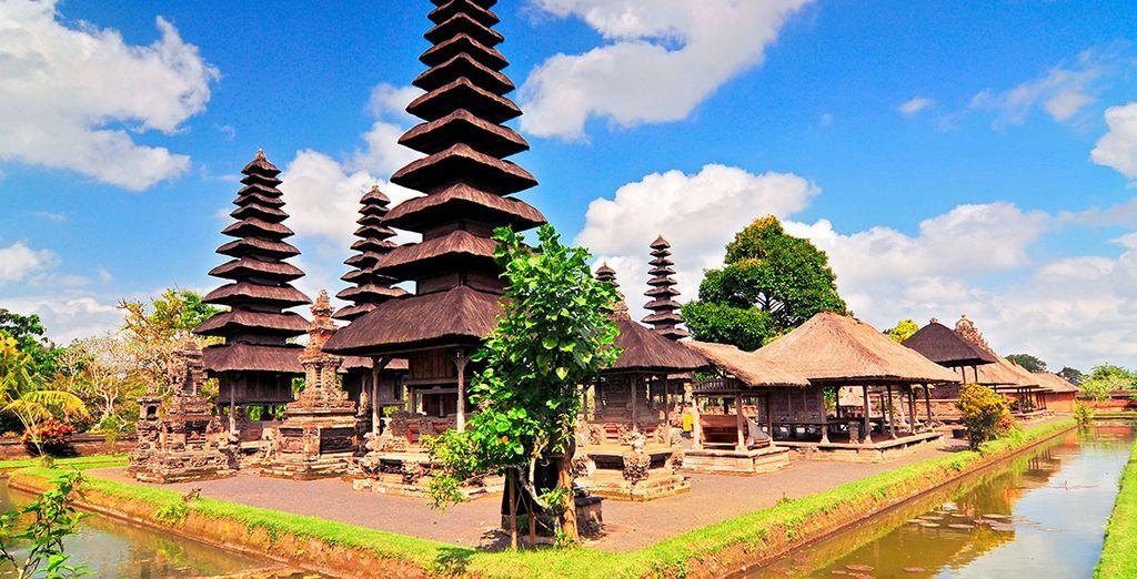 El tercer día de viaje visitarás Taman Ayun, el templo más sagrado de Bali