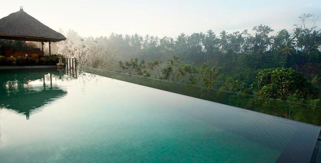 Deléitate con las vistas desde la Infinity Pool