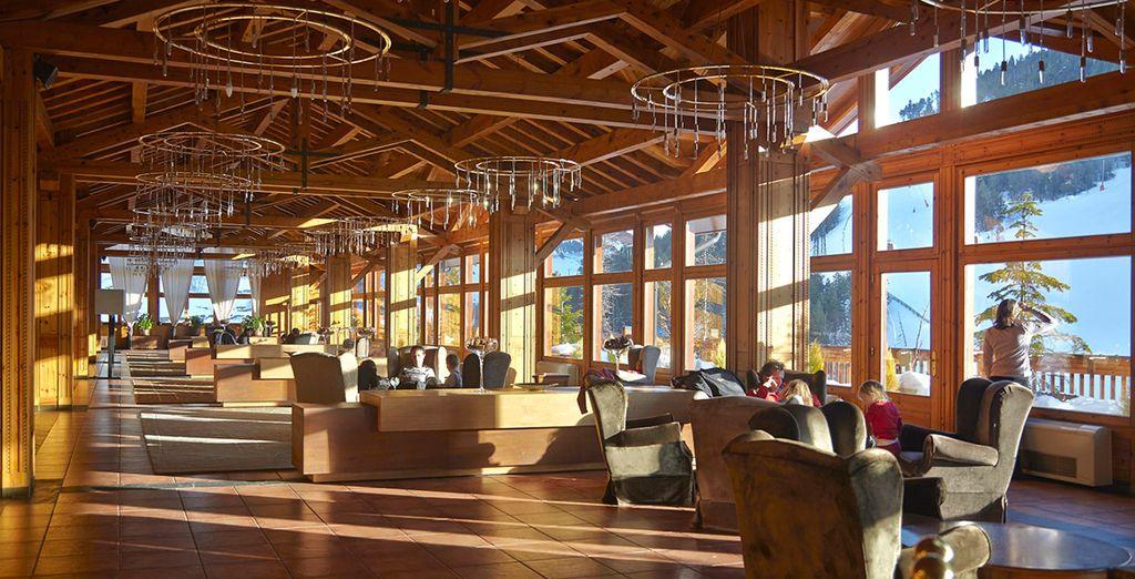 Sport Hotel Village 4* ofrece espectaculares vistas  a las montañas nevadas
