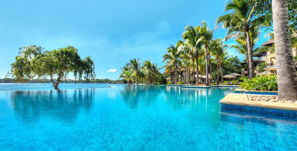 Combina tu tiempo de ocio con la piscina y el resto de actividades que ofrece esta isla