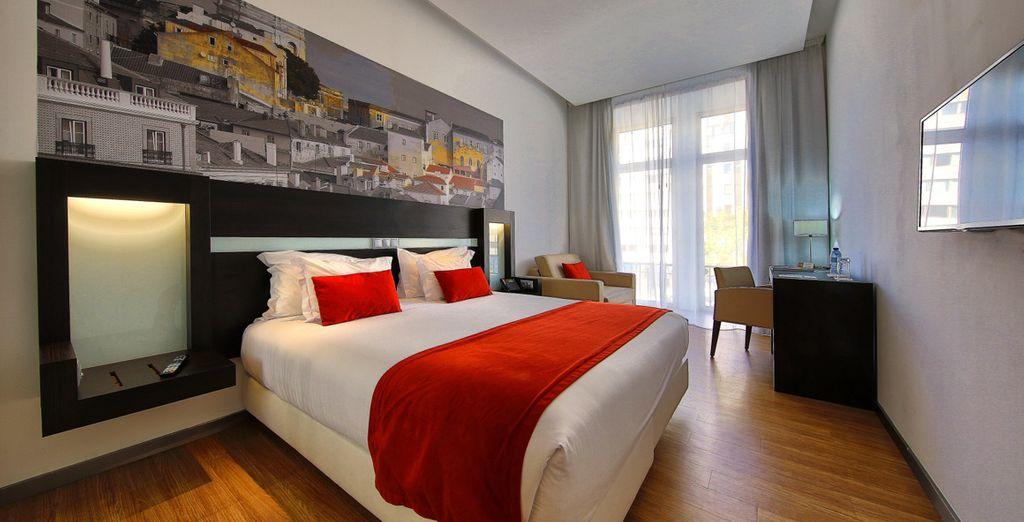 Descansa en tu habitación Superior completamente equipada para tu bienestar