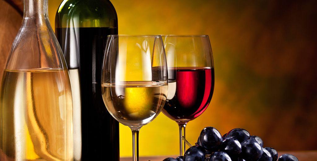 ...y una cata de vino que no puedes perderte