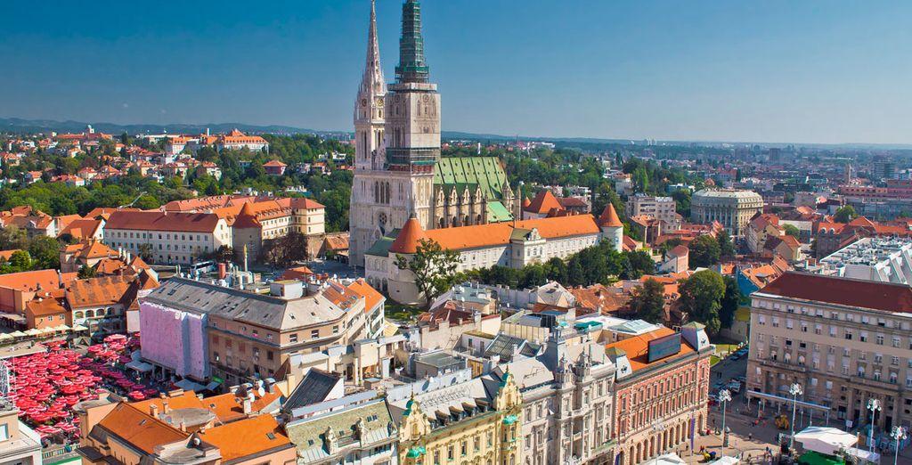 Llegada a Zagreb, la capital de Croacia. Sin duda, es una de las grandes desconocidas de Europa