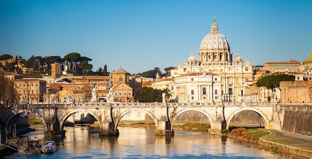 Pasa unos días inolvidables en Roma