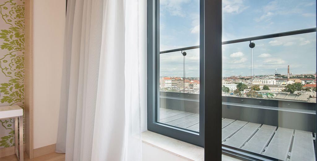 Contempla las vistas desde tu habitación