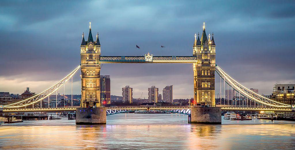 Londres es una ciudad que te cautivará