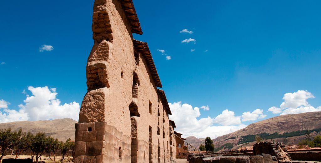 Raqchi, un templo Inca construido en honor al Dios Wiracoche