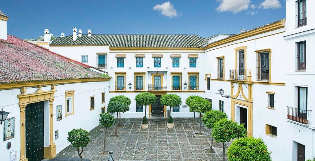 Hotel Hospes Las Casas del Rey de Baeza 4*, en una preciosa casa andaluza tradicional